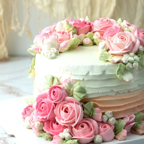 ウエディングケーキへのこだわりの画像