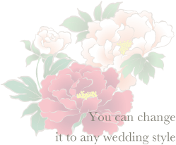 You can change it to any wedding style